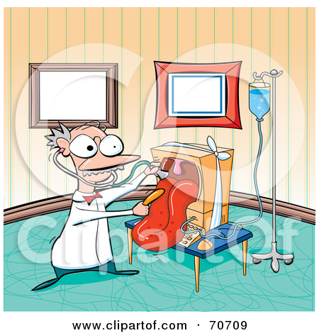 Computer in hospital clipart svg free Royalty-Free (RF) Computer Repair Clipart, Illustrations, Vector ... svg free
