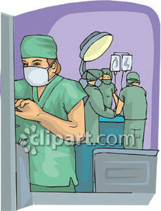 Computer in hospital clipart freeuse download Operating Room - Royalty Free Clipart Picture freeuse download