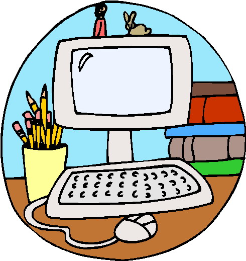 Computer in school clipart svg library library Computer School Clipart - Clipart Kid svg library library