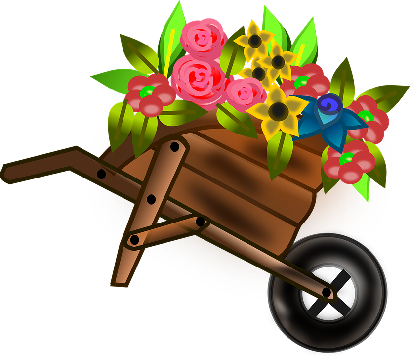 Computer in wheelbarrow clipart jpg stock Wheelbarrow - Free images on Pixabay jpg stock