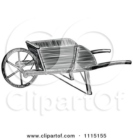 Computer in wheelbarrow clipart vector transparent stock Royalty-Free (RF) Wheelbarrow Clipart, Illustrations, Vector ... vector transparent stock