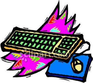 Computer keyboard and mouse clipart clip art library stock Keyboard And Mouse Clipart - Clipart Kid clip art library stock