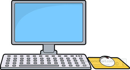 Computer keyboard and mouse clipart picture free stock Keyboard And Mouse Clipart - Clipart Kid picture free stock
