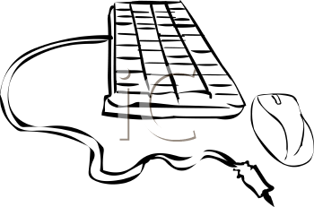 Computer keyboard and mouse clipart jpg free Keyboard And Mouse Clipart - Clipart Kid jpg free