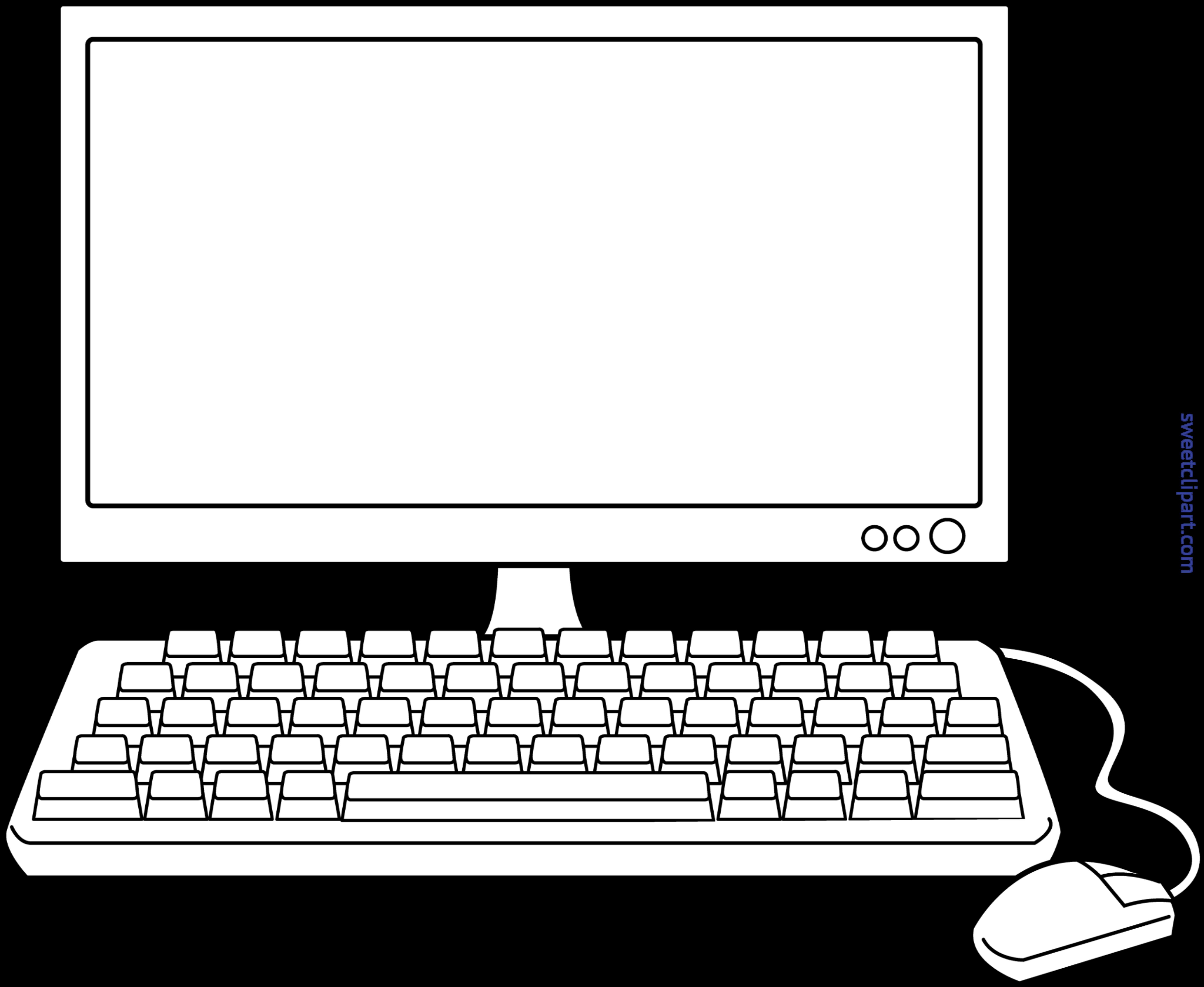 Facebook desktop clipart