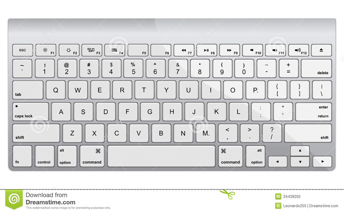 Mac clipartfest apple aluminum. Computer keyboard clipart