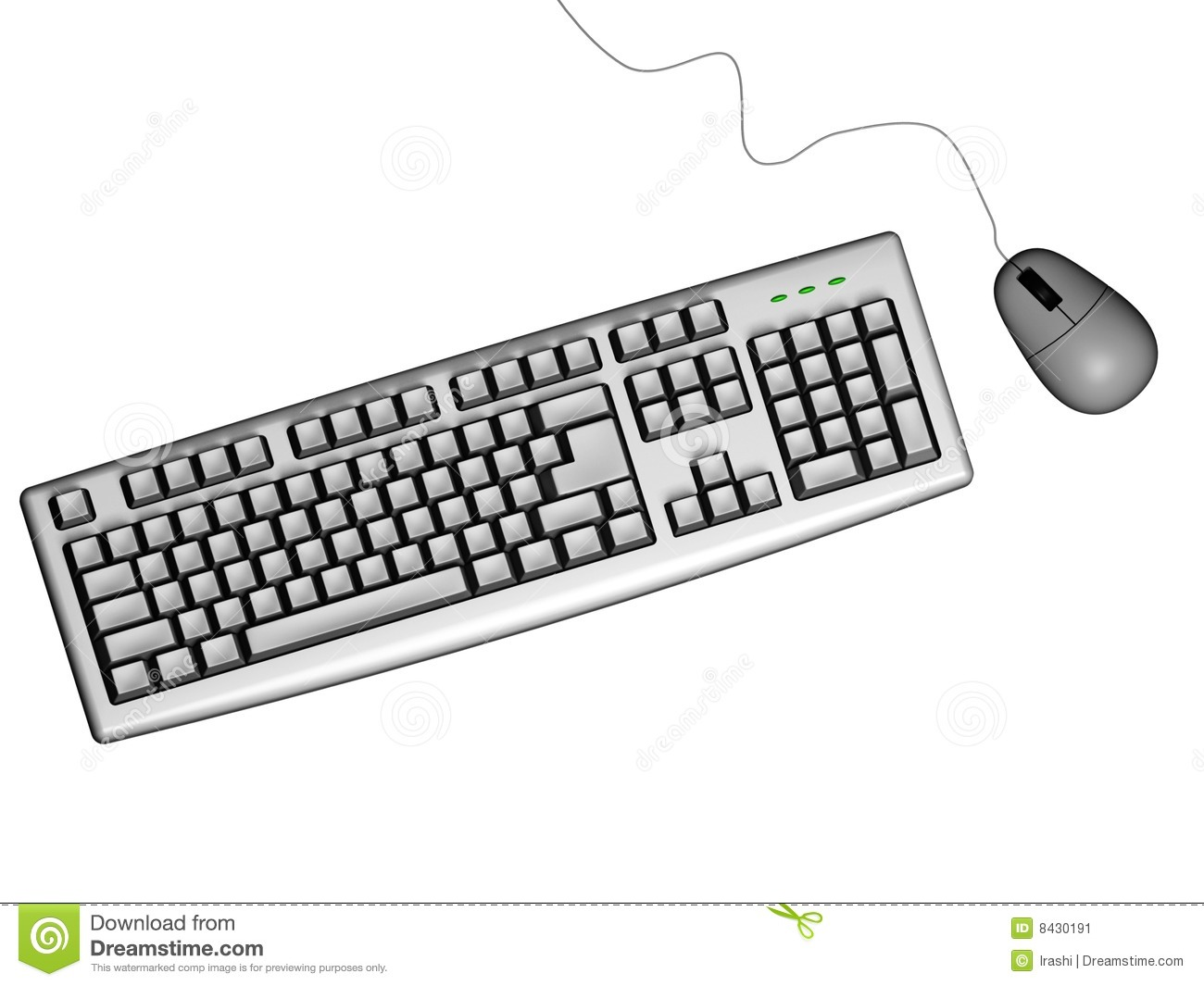 Computer keyboard clipart black and white jpg black and white stock Keyboard and mouse clipart black and white - ClipartFest jpg black and white stock