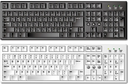 Computer keyboard clipart eps transparent download Computer keyboard clipart eps - ClipartFest transparent download