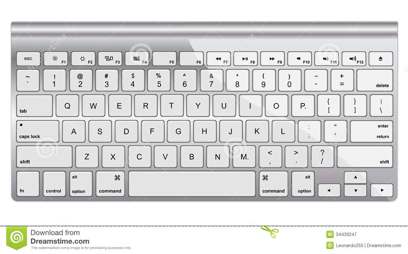 Computer keyboard clipart free library Free clipart computer keyboard - ClipartFest library