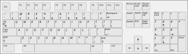 Download. Computer keyboard clipart free