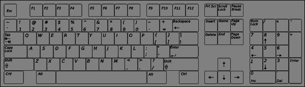Computer keyboard clipart free image free stock Computer Keyboard Clipart – Clipart Free Download image free stock
