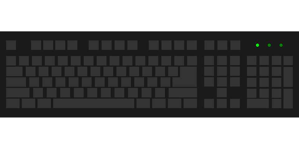 Computer keyboard clipart vector graphic royalty free stock Computer Keyboard Graphic (46+) Desktop Backgrounds graphic royalty free stock