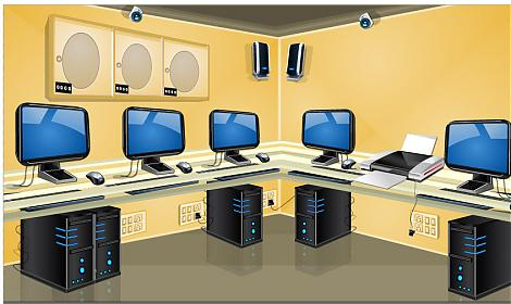 Computer lab in school clipart royalty free stock Computer lab in school clipart - ClipartFest royalty free stock