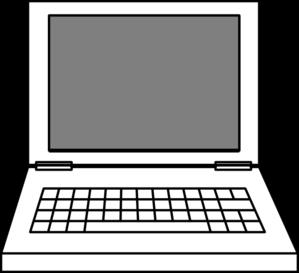 Computer laptop clipart clip art library download Laptop Clip Art at Clker.com - vector clip art online, royalty free ... clip art library download