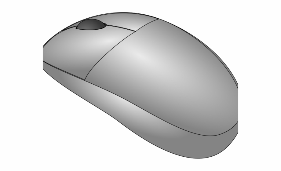 Computer mice clipart png black and white library Picture Of A Cartoon Computer - Mouse Free PNG Images & Clipart ... png black and white library