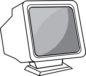 Clipartfest . Computer monitor and keyboard clipart