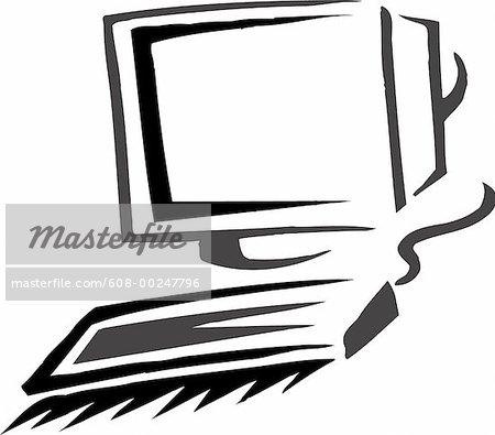 Computer monitor and keyboard clipart jpg free download Computer Keyboard Black And White Clipart - Clipart Kid jpg free download