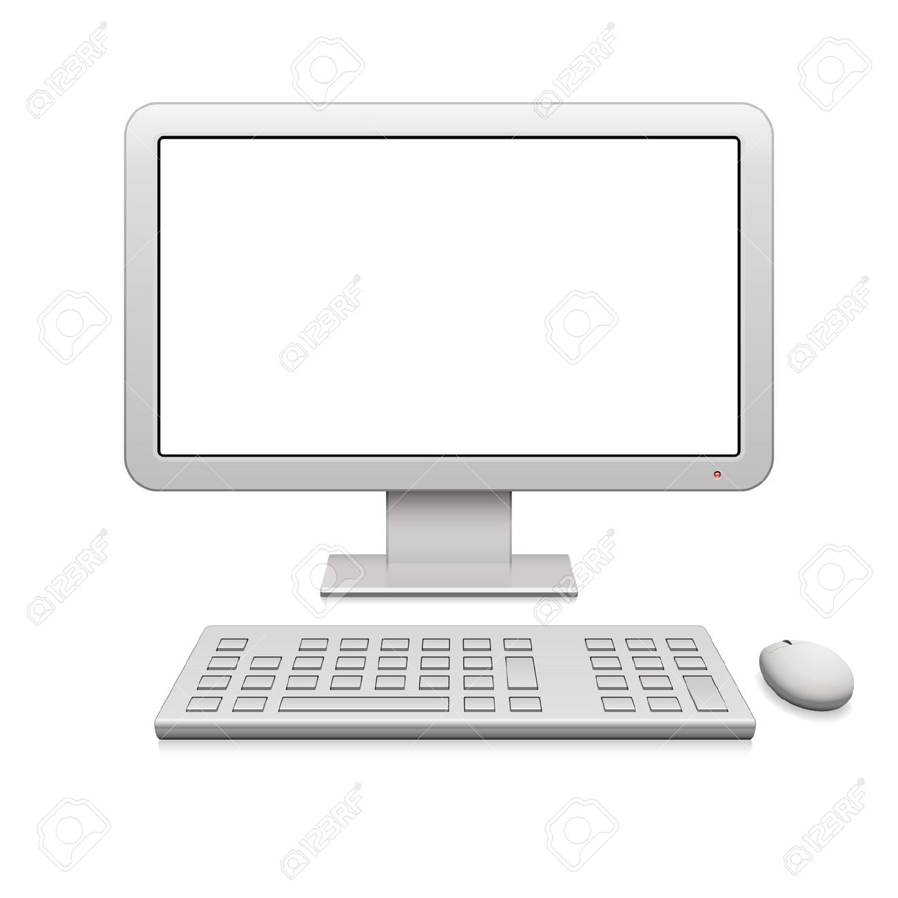 Computer monitor and keyboard clipart image royalty free stock 19,909 White Mice Cliparts, Stock Vector And Royalty Free White ... image royalty free stock