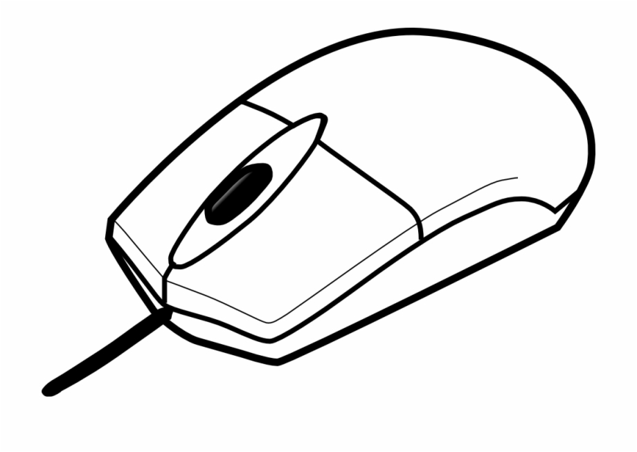 Pc mouse clipart royalty free library Onlinelabels Clip Art - Computer Mouse Clipart Black And White ... royalty free library