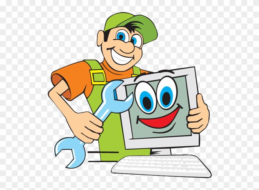 Repairs clipart picture transparent Image - Computer Repair Cartoon Clipart (#1726406) - PinClipart picture transparent