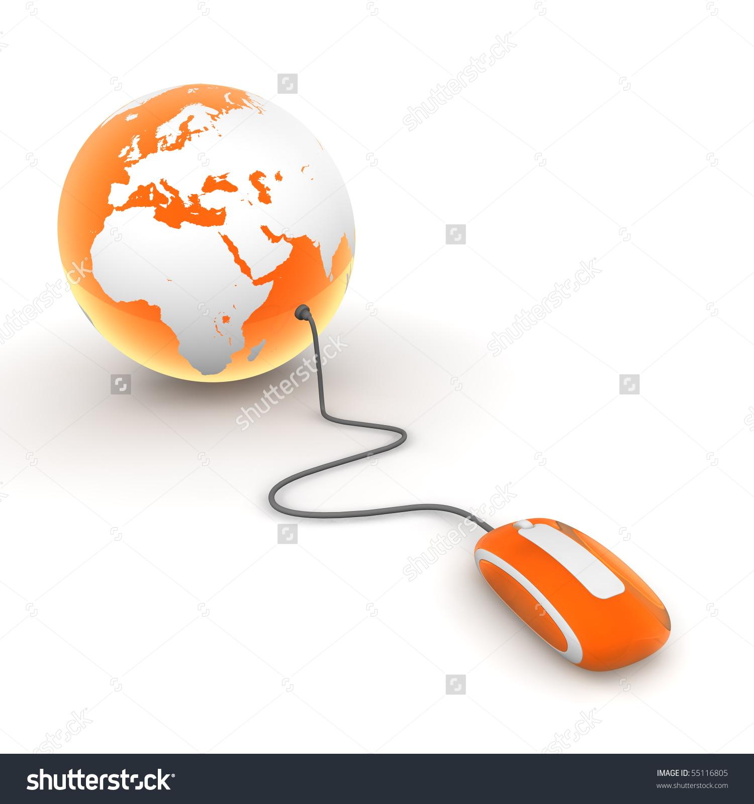 Computer save clipart translucent clip art freeuse Orange Translucent Computer Mouse Connected To A Orange Glossy ... clip art freeuse