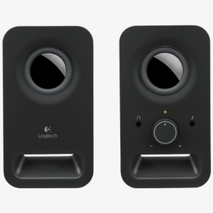 Computer speakers clipart clip black and white Computer Speakers Png Transparent - Logitech Z150 2.0 Channel ... clip black and white