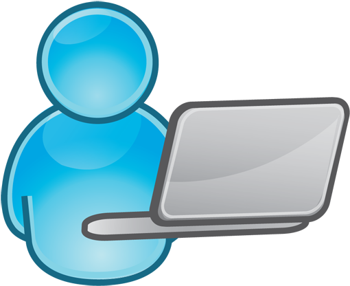 Computer user clipart png free stock HD Free Icons Png - Computer User Clipart , Free Unlimited Download ... png free stock