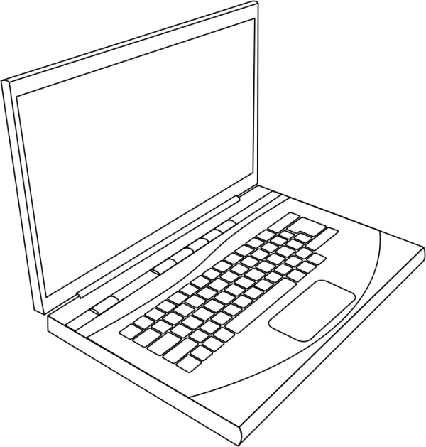 Computer vs laptop clipart graphic freeuse stock Computer vs laptop clipart - ClipartFest graphic freeuse stock
