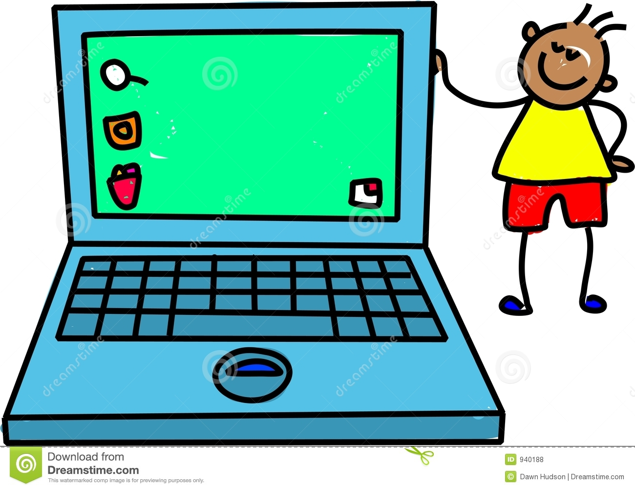 Computer vs laptop clipart graphic free stock Computer laptop clipart - ClipartFest graphic free stock