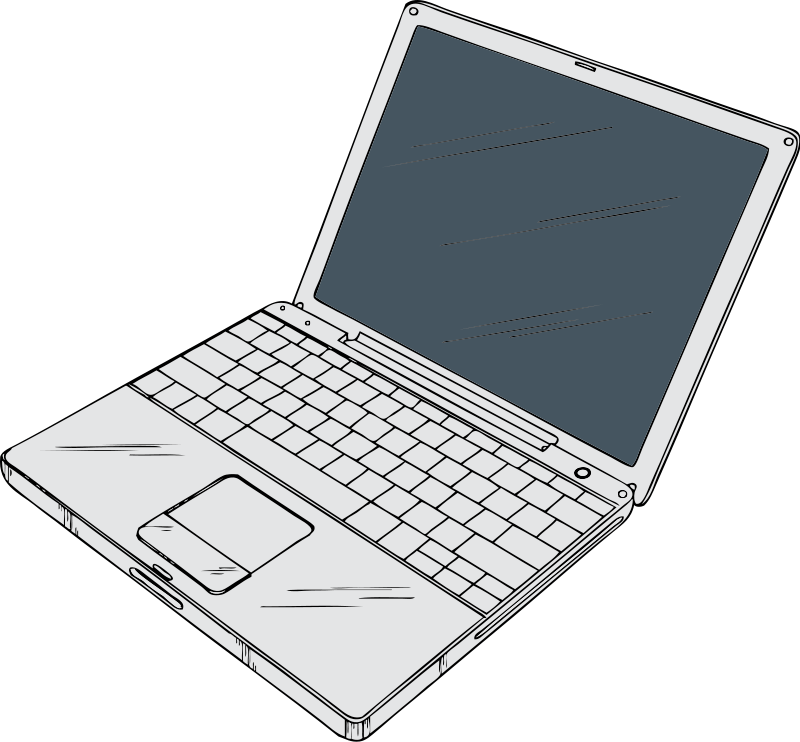 Computer vs laptop clipart png library stock Computer vs laptop clipart - ClipartFest png library stock