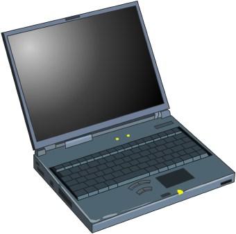 Computer vs laptop clipart jpg royalty free stock Laptop Computer clip art jpg royalty free stock