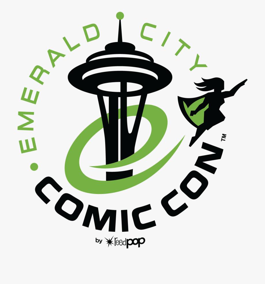 Con clipart svg transparent download Emerald City Comic Con 2019 Clipart , Png Download - Emerald ... svg transparent download