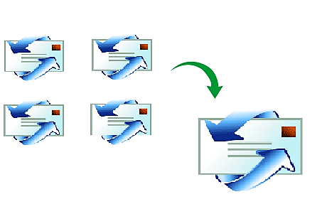Concatenate clipart files png freeuse Merge DBX Files – Combine Two DBX Files into One png freeuse