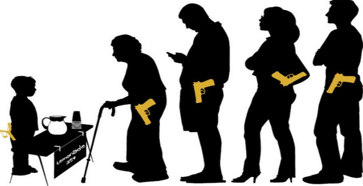 Concealed carry clipart clip library download Concealed carry weapons are growing in popularity clip library download