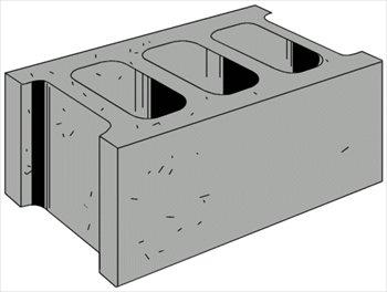 Concrete block clipart image library Concrete block clipart - ClipartFest image library