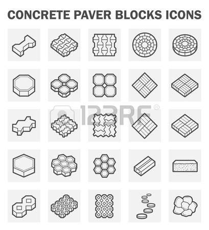 Concrete block clipart jpg transparent 7,108 Concrete Block Stock Vector Illustration And Royalty Free ... jpg transparent