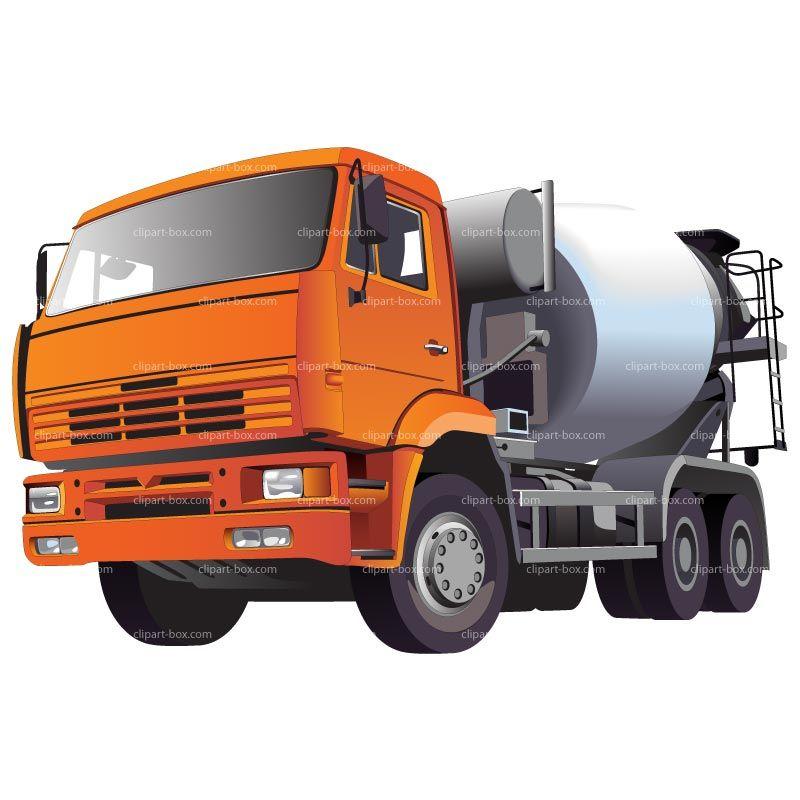 Concrete truck clipart jpg transparent library CLIPART CONCRETE MIXER TRUCK | Royalty free vector design ... jpg transparent library