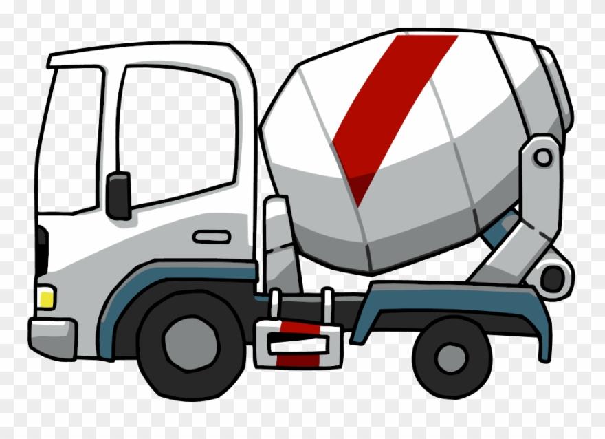 Concrete truck clipart graphic stock Concrete Truck Png - Concrete Mixing Truck Cartoon Clipart (#933222 ... graphic stock