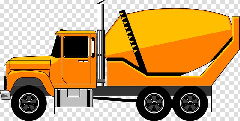 Concrete truck clipart svg transparent download Concrete mixer Truck Concrete pump , Heavy Equipment transparent ... svg transparent download