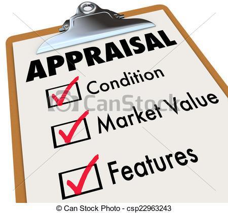 Condition clipart download Appraisal Words Checklist Clipboard Factors Condition Market Val ... download