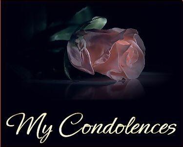 Condolence graphics clipart black and white Sympathy Comments, Graphics clipart black and white