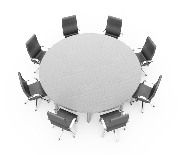 Conference table clipart svg black and white round-conference-tables-and-chairs-BgKTXK-clipart - City of Hawarden, Iowa svg black and white