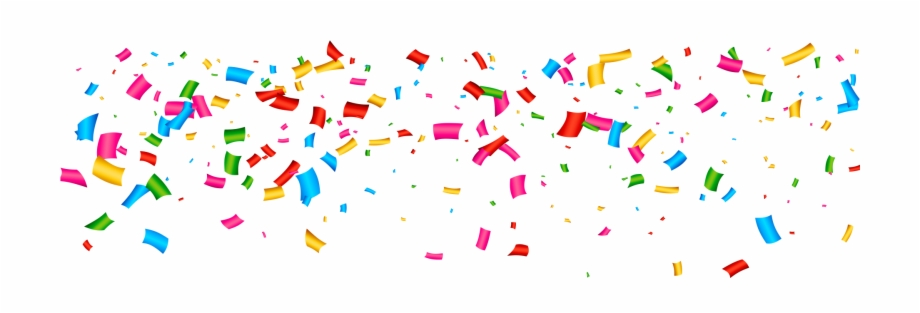 Confete clipart graphic black and white download Confetti Clipart Wallpaper - Welcome 2019 Images Hd Free PNG Images ... graphic black and white download