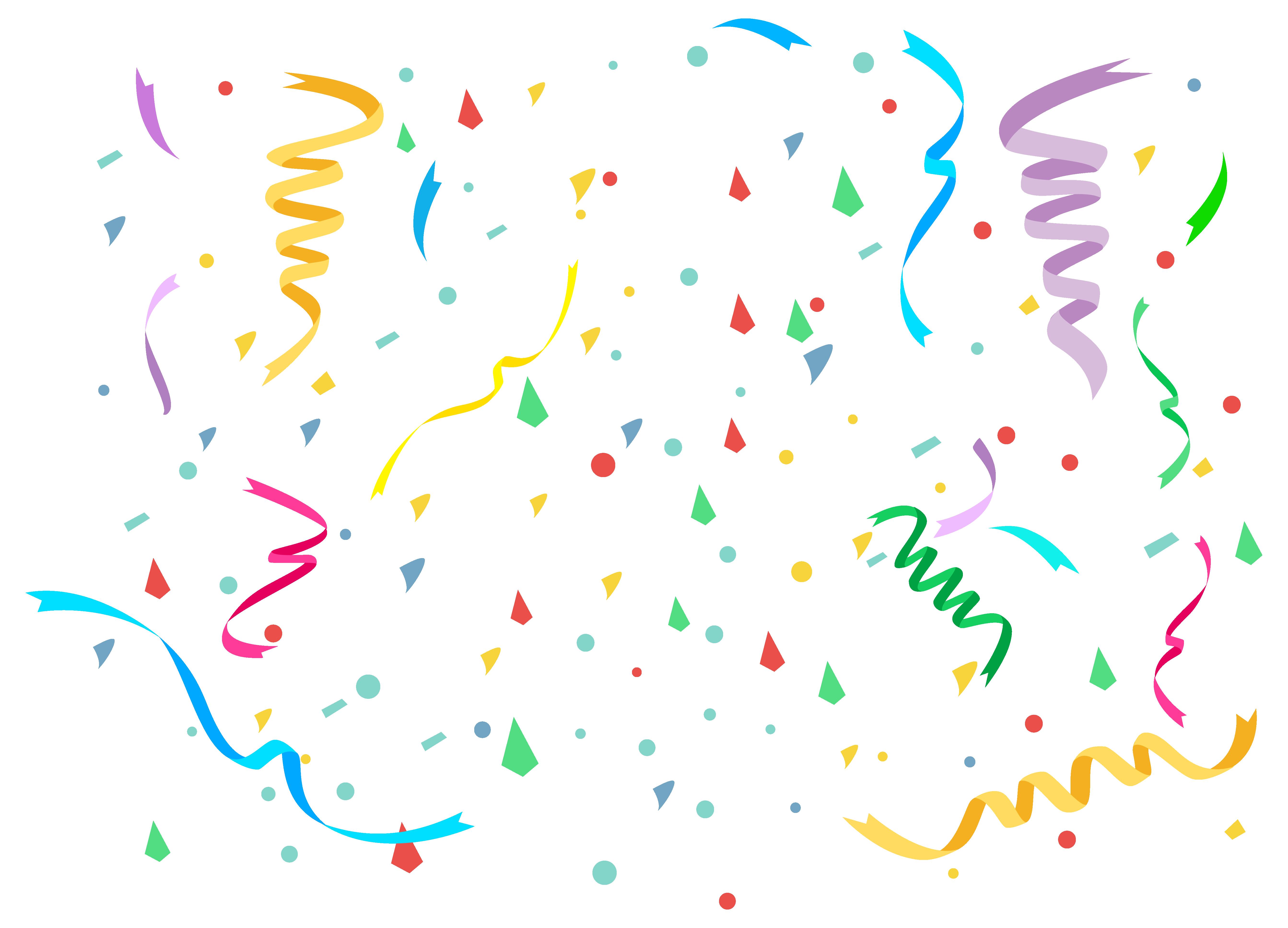 Confetti cake clipart image freeuse stock Birthday cake Clip art - Confetti PNG Clipart Image png download ... image freeuse stock