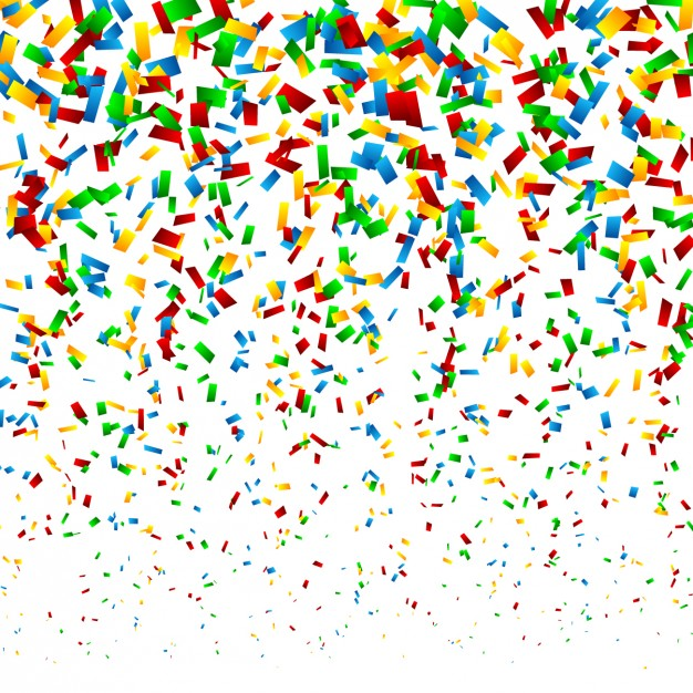 Confetti clipart vector free jpg free stock Confetti vectors photos and psd files free download clipart - Clipartix jpg free stock