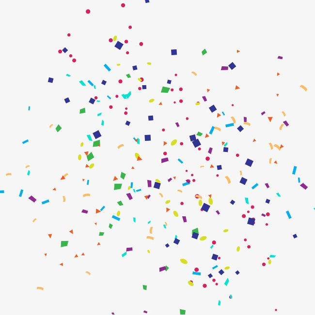 Confetti clipart vector free svg royalty free download Confetti, Confetti Clipart, Decorative, Colored PNG and Vector with ... svg royalty free download