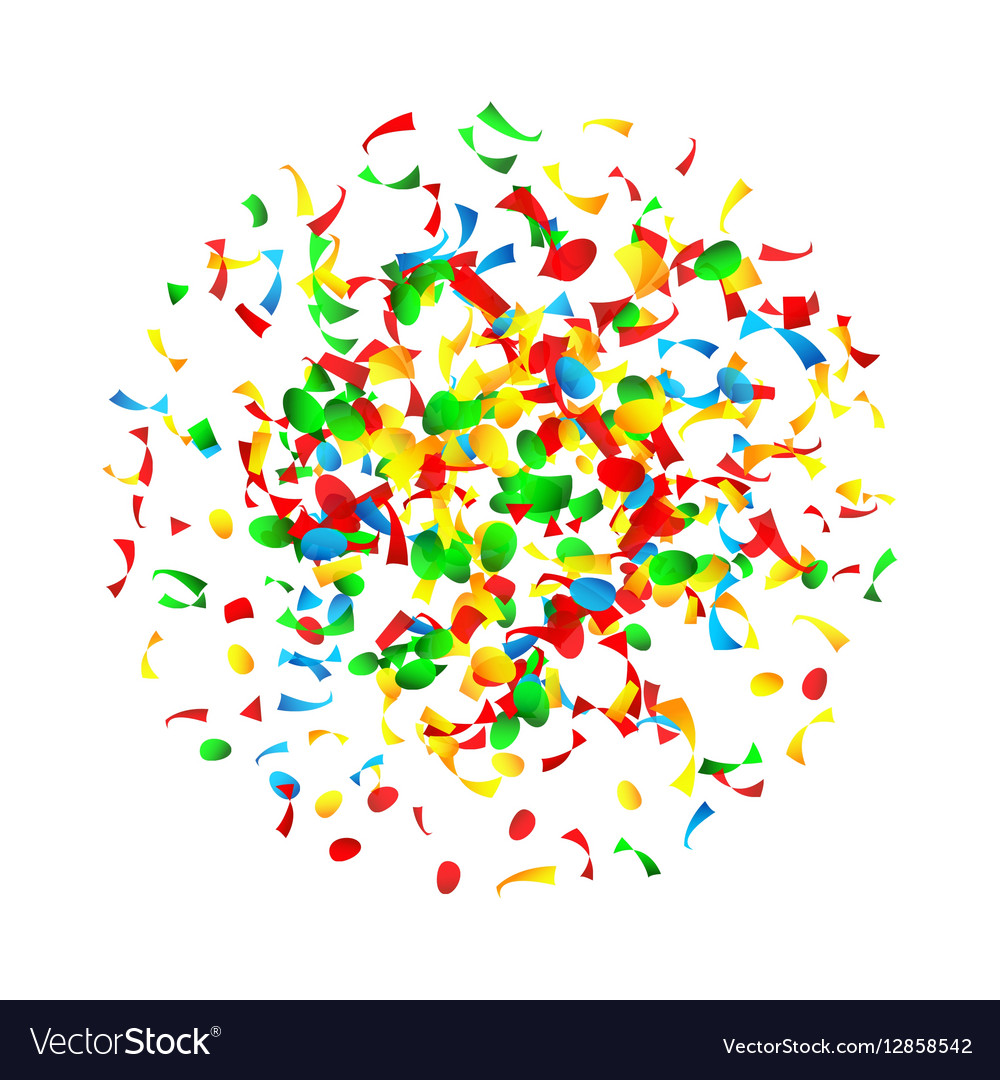 Confetti explosion clipart png royalty free library Confetti Falling Bright Explosion Isolated png royalty free library