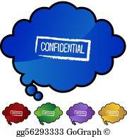 Confidential clipart free picture transparent Confidential Clip Art - Royalty Free - GoGraph picture transparent