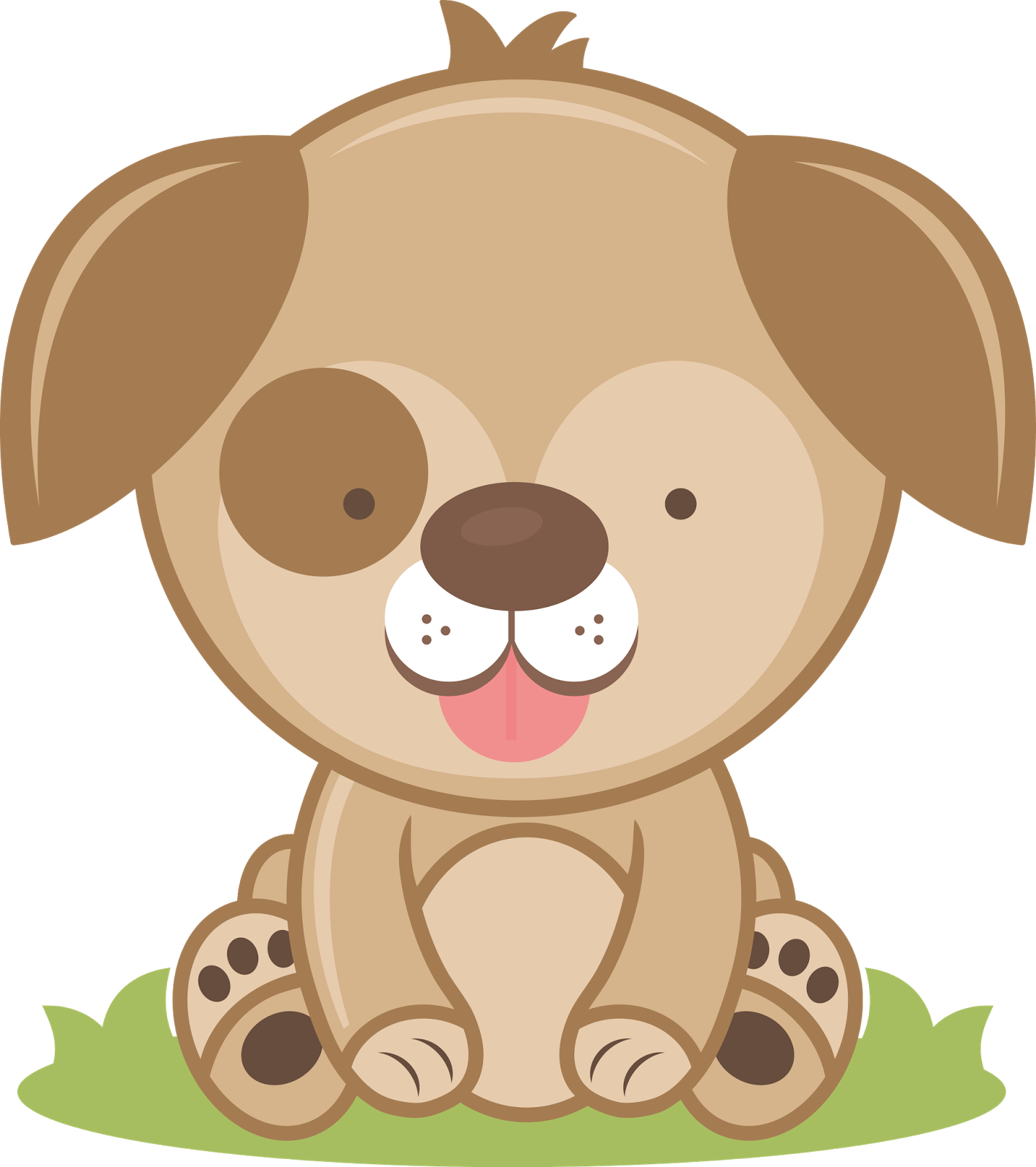 Confused dog clipart svg black and white stock Puppy Clipart - clipart svg black and white stock