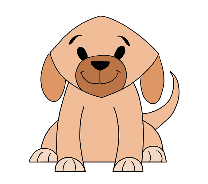Smart dog clipart royalty free Easy Drawing Of A Dog at GetDrawings.com | Free for personal use ... royalty free